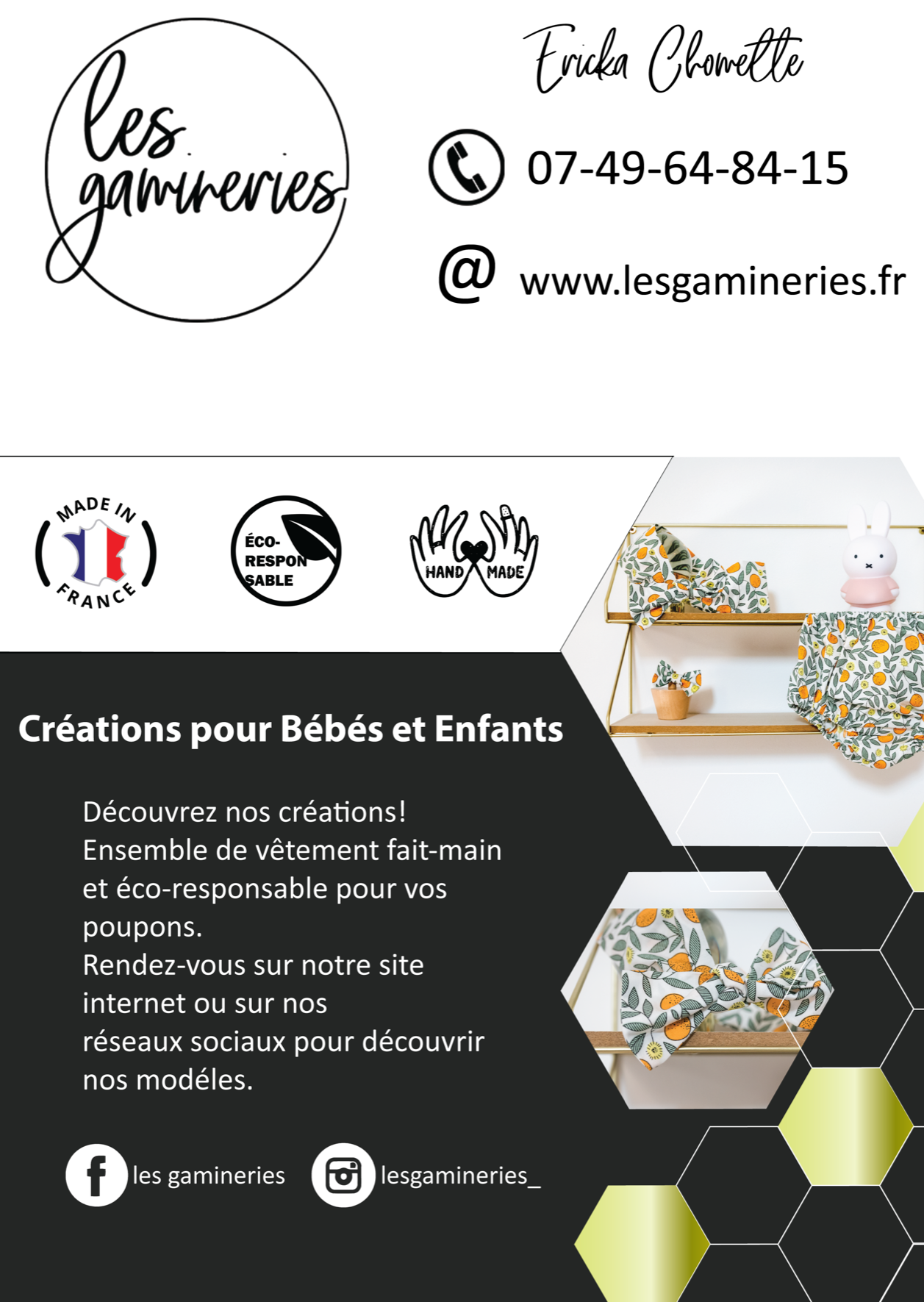 Flyer Les Gamineries